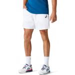 ASICS Mens Court 7-inch Tennis Short - Brilliant White ASICS Mens Court 7-inch Tennis Short - Brilliant White