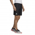 Adidas Men's Club 9-inch Tennis Short - Black/White Adidas Men's Club 9-inch Tennis Short - Black/White