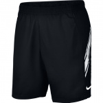 Nike Men's Court Dri-Fit Tennis Short - BLACK/WHITE Nike Men's Court Dri-Fit Tennis Short - BLACK/WHITE