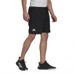 Adidas Mens Club Tennis 3-Stripes Shorts - BLACK/WHITE Adidas Mens Club Tennis 3-Stripes Shorts - BLACK/WHITE