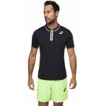 ASICS Mens Match Polo Tennis Shirt - Performance Black ASICS Mens Match Polo Tennis Shirt - Performance Black