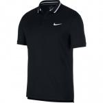 Nike Men's Court Dri-FIT Polo - BLACK/WHITE Nike Men's Court Dri-FIT Polo - BLACK/WHITE