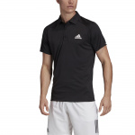 Adidas Men's Club Tennis Polo - Black/White/Black Adidas Men's Club Tennis Polo - Black/White/Black