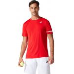ASICS Mens Court Tennis Tee - Classic Red ASICS Mens Court Tennis Tee - Classic Red