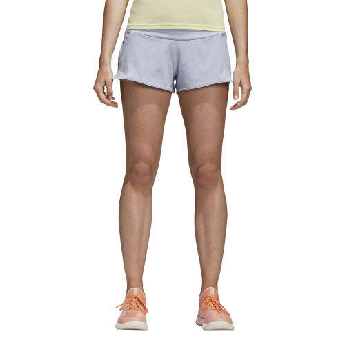 Adidas Women's Advantage Tennis Short- Chalk Blue