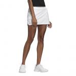 Adidas Womens Club Tennis Skirt - White/Matte Silver/Black Adidas Womens Club Tennis Skirt - White/Matte Silver/Black