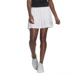 Adidas Womens Club Tennis Pleated Skirt - White/Grey Adidas Womens Club Tennis Pleated Skirt - White/Grey