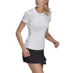 Adidas Womens Club Tennis Tee - White/Grey Adidas Womens Club Tennis Tee - White/Grey