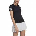 Adidas Womens Club Tennis Tee - Black/White Adidas Womens Club Tennis Tee - Black/White