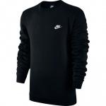 Nike Men's Sportswear Crew - BLACK Nike Men's Sportswear Crew - BLACK