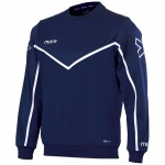 Mitre Men's Primero Sweat Top - Navy/WHITE Mitre Men's Primero Sweat Top - Navy/WHITE