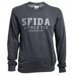SFIDA Men's Jamie Fleece Crew Sweat - CHARCOAL MARLE SFIDA Men's Jamie Fleece Crew Sweat - CHARCOAL MARLE