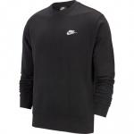 Nike Men's Sportswear Club Crew - BLACK/WHITE Nike Men's Sportswear Club Crew - BLACK/WHITE