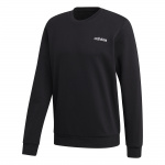 Adidas Mens' Feelcozy Fleece Sweat - Black Adidas Mens' Feelcozy Fleece Sweat - Black