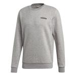 Adidas Mens' Feelcozy Fleece Sweat - Medium Grey Heather Adidas Mens' Feelcozy Fleece Sweat - Medium Grey Heather