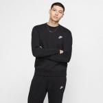 Nike Mens Sportswear Club Crew - BLACK Nike Mens Sportswear Club Crew - BLACK