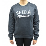 SFIDA Women's Stephanie Crew Sweat - Charcoal Marle SFIDA Women's Stephanie Crew Sweat - Charcoal Marle