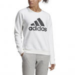 Adidas Women's Must Haves BOS Sweatshirt - WHITE Adidas Women's Must Haves BOS Sweatshirt - WHITE