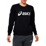 ASICS Womens Fleece Crew - Performance Black ASICS Womens Fleece Crew - Performance Black