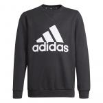 Adidas Boys Essentials Big Logo Sweatshirt - Black/White Adidas Boys Essentials Big Logo Sweatshirt - Black/White