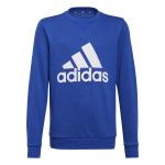 Adidas Boys Essentials Big Logo Sweatshirt - Team Royal Blue/White Adidas Boys Essentials Big Logo Sweatshirt - Team Royal Blue/White