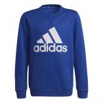 ADIDAS Boys Essentials Big Logo Sweatshirt - Bold Blue/White ADIDAS Boys Essentials Big Logo Sweatshirt - Bold Blue/White