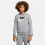 Nike Boys Sportswear Club Fleece Crew - GREY Nike Boys Sportswear Club Fleece Crew - GREY