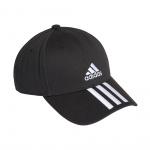 Adidas Baseball 3-Stripes Twill Cap - Black/White/White Adidas Baseball 3-Stripes Twill Cap - Black/White/White