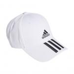 Adidas Baseball 3-Stripes Twill Cap - White/Black/Black Adidas Baseball 3-Stripes Twill Cap - White/Black/Black