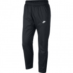 Nike Sportswear Men's Woven Track Pants- Black/White Nike Sportswear Men's Woven Track Pants- Black/White