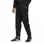 Adidas Men's Essentials Linear Tapered Stanford Pant - BLACK/WHITE Adidas Men's Essentials Linear Tapered Stanford Pant - BLACK/WHITE
