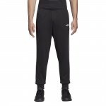 Adidas Men's Essentials Tapered Fleece Pant - black/white Adidas Men's Essentials Tapered Fleece Pant - black/white