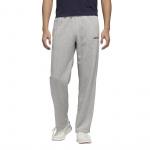 Adidas Mens Essential Feelcozy Pant - Medium Grey Heather/Black Adidas Mens Essential Feelcozy Pant - Medium Grey Heather/Black