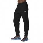 Nike Mens Sportswear Club Fleece Jogger - BLACK Nike Mens Sportswear Club Fleece Jogger - BLACK
