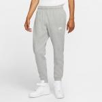 Nike Mens Sportswear Club Fleece Jogger - DK GREY HEATHER/MATTE SILVER Nike Mens Sportswear Club Fleece Jogger - DK GREY HEATHER/MATTE SILVER