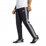 Adidas Mens Essential 3S Woven Pant - Black/White Adidas Mens Essential 3S Woven Pant - Black/White