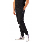 Russell Athletic Mens Core Cuff Track Pant - BLACK Russell Athletic Mens Core Cuff Track Pant - BLACK