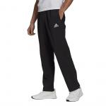 Adidas Mens Essentials Stanford Open Hem Pant - BLACK Adidas Mens Essentials Stanford Open Hem Pant - BLACK