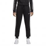 ADIDAS Women's Essentials 3-Stripe Pant - black/white ADIDAS Women's Essentials 3-Stripe Pant - black/white