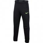 Nike Boys Dry Taper Training Pant - Black/Lime Blast Nike Boys Dry Taper Training Pant - Black/Lime Blast