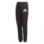 Adidas Boys Badge of Sport Pant - Black/White Adidas Boys Badge of Sport Pant - Black/White