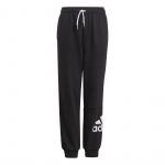 Adidas Boys Essentials French Terry Pant - Black/White Adidas Boys Essentials French Terry Pant - Black/White