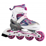 Blade X Slider Adjustable Junior Inline Skates - Pink Blade X Slider Adjustable Junior Inline Skates - Pink