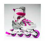 Blade X Slider Adjustable Junior Inline Skates - Pink