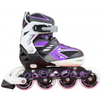 Blade X Focus Easy Adjust Senior & Junior Inline Skates - Purple Blade X Focus Easy Adjust Senior & Junior Inline Skates - Purple