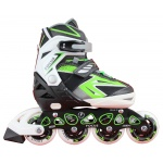 Blade X Focus Easy Adjust Senior & Junior Inline Skates - GREEN Blade X Focus Easy Adjust Senior & Junior Inline Skates - GREEN