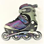 Blade X Focus Pulse Easy Adjust Senior & Junior Inline Skates - Pink Blade X Focus Pulse Easy Adjust Senior & Junior Inline Skates - Pink