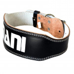 Mani Deluxe 4-inch Padded Leather Weight Belt Mani Deluxe 4-inch Padded Leather Weight Belt