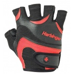 Harbinger Flexfit Weight Training Gloves - BLACK/RED Harbinger Flexfit Weight Training Gloves - BLACK/RED