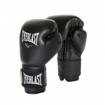 Everlast Powerlock Training Boxing Glove - BLACK/BLACK Everlast Powerlock Training Boxing Glove - BLACK/BLACK